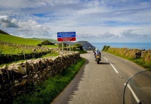 Motorcycle group rider UK road