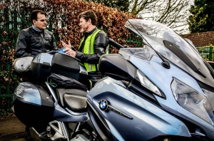 IAM advanced motorcycle training bristol