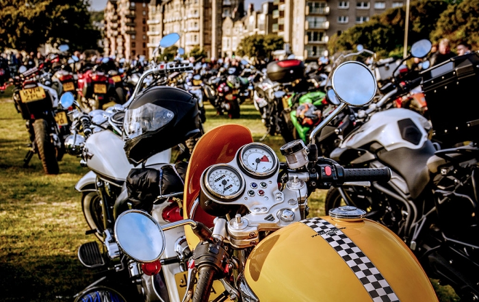 Weston-Super-Mare bike night 2017