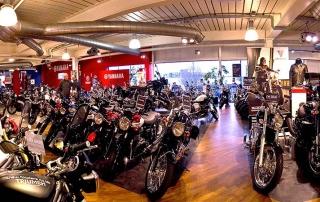 Fowlers Motorcycle showroom