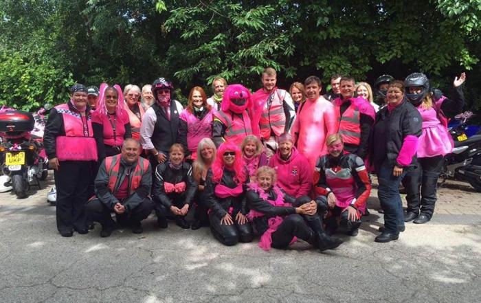 Pink Run Calne Bike Meet