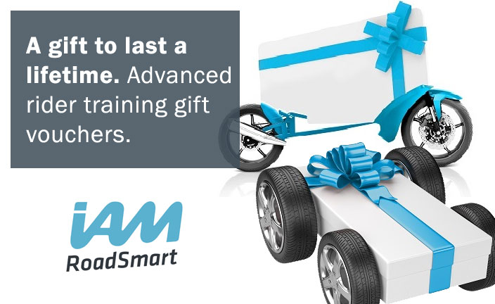 IAM advanced rider gift vouchers