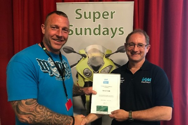 Bristol Advanced Motorcyclist award